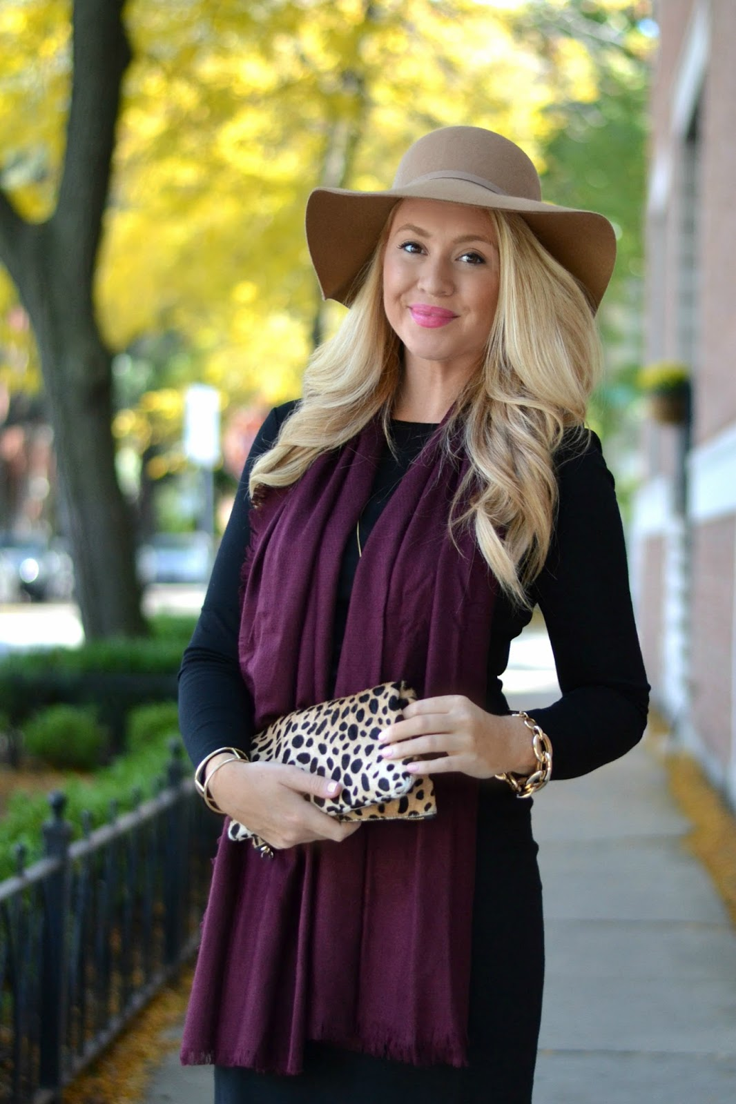 how-to-wear-a-floppy-hat-for-fall
