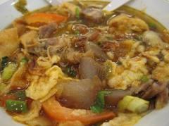 Resep cara membuat soto mie bogor yang asli serta lezat
