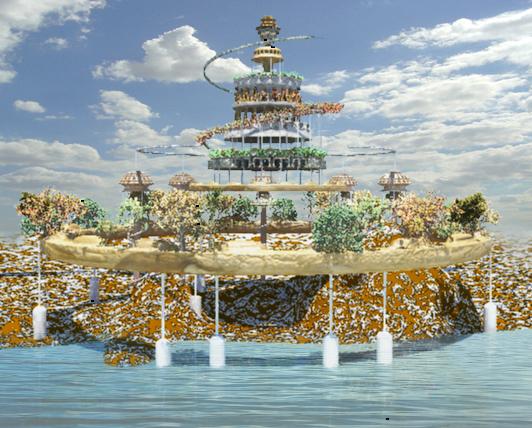 Sergio poderoso blog jardines colgantes de babilonia for Jardines colgantes babilonia