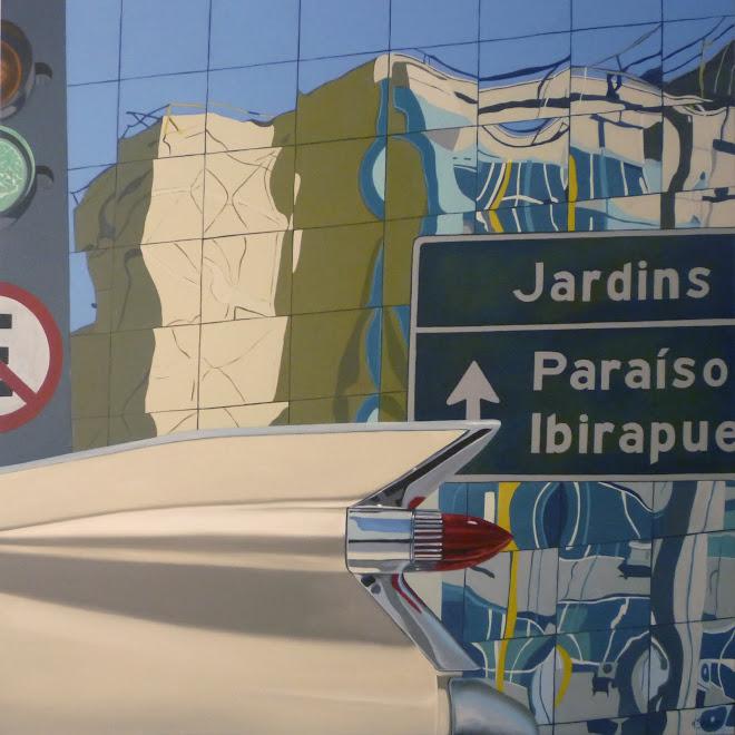 Barroco Urbano - 1,20x1,20m - o.s.t.