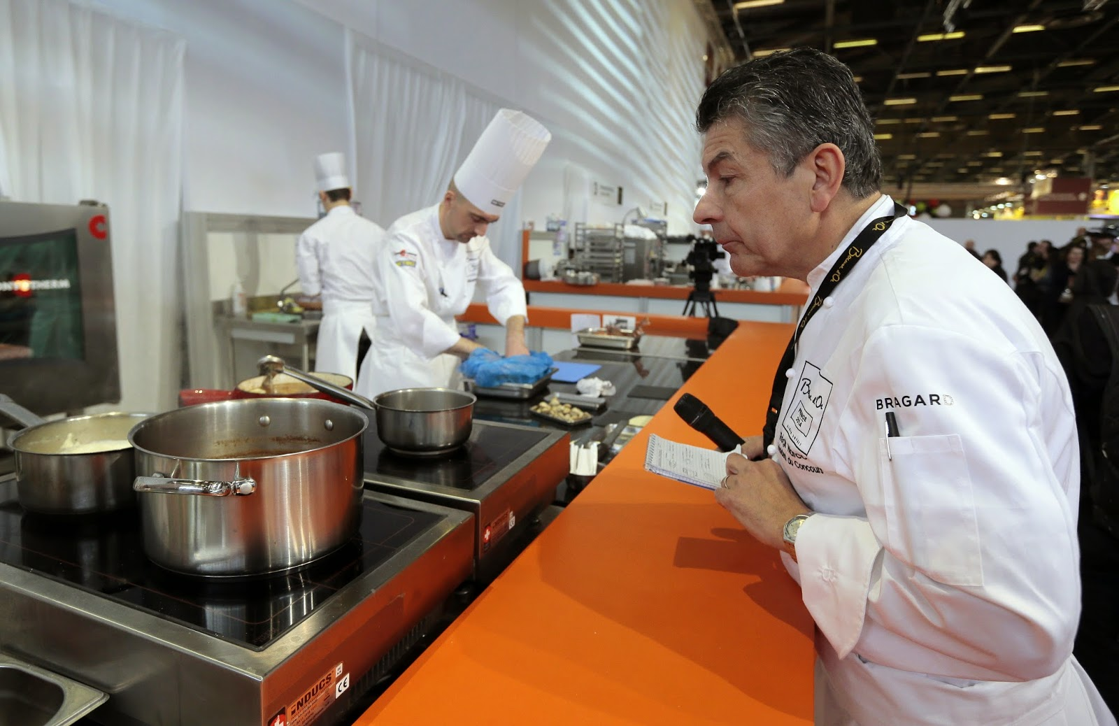 Bocuse d'Or, Chef, Chef championship, Cooking, Food, France, French chef, News, Paris, Participants, Regis Marcon, Villepinte, World Cooking Contest,