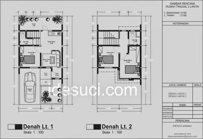 Rumah Minimalis Luas 60