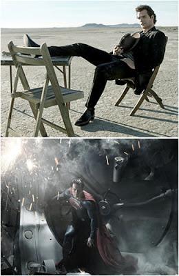 Foto: Seksinya Henry Cavill, Pemeran Superman Terbaru