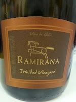 Ramirana Premium Trinidad Vineyards Syrah, Cabernet Sauvignon e Carmenère