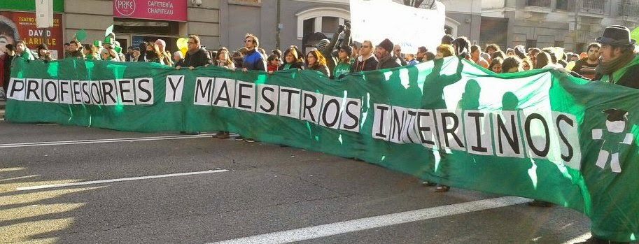Plataforma de Interin@s de Madrid