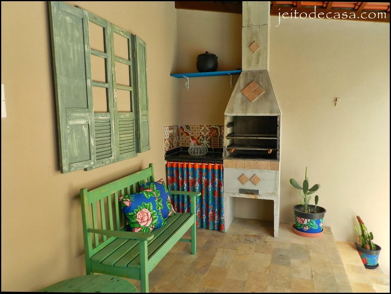 Área de lazer de casa renovada! Jeito de Casa Blog de Decoraç u00e3o