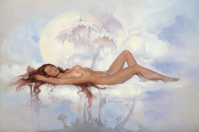 John Pitre 1942 | American Surrealist painter