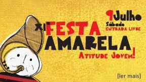 FESTA AMARELA - 9 DE JULHO