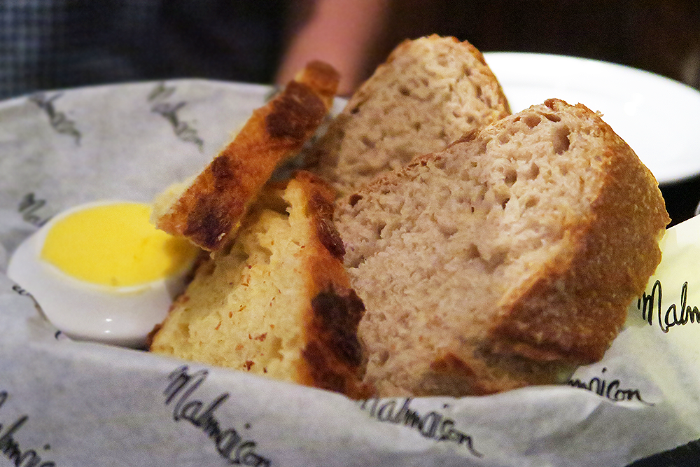 Bread and butter at the Malmaison Leeds Brasserie