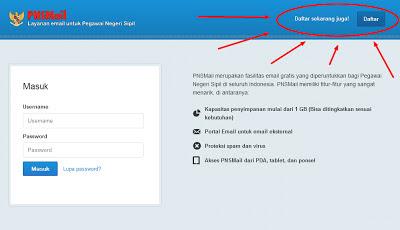 Cara Membuat Email Khusus PNS di PNSMail.go.id