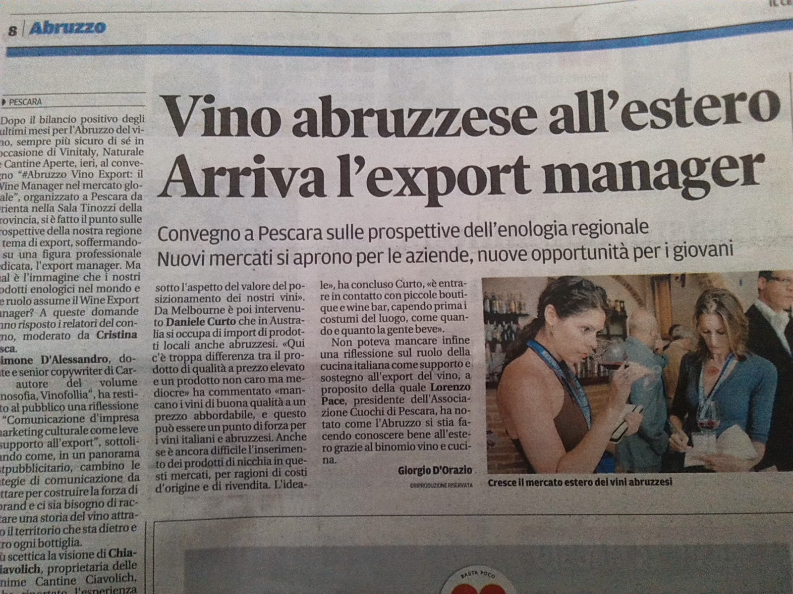 wine export manager diventa il mestiere del futuro
