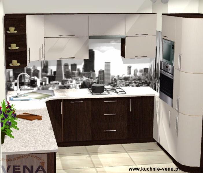 Meble kuchenne Lublin Vena w Domixie  opinie, porady, inspiracje Projekty k   -> Kuchnia Meble Lubin