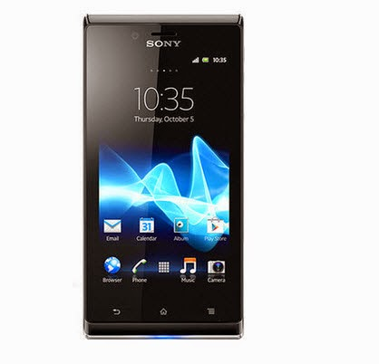Buy Sony xperia J Mobile phone at Rs.7479 : Buy To Earn
