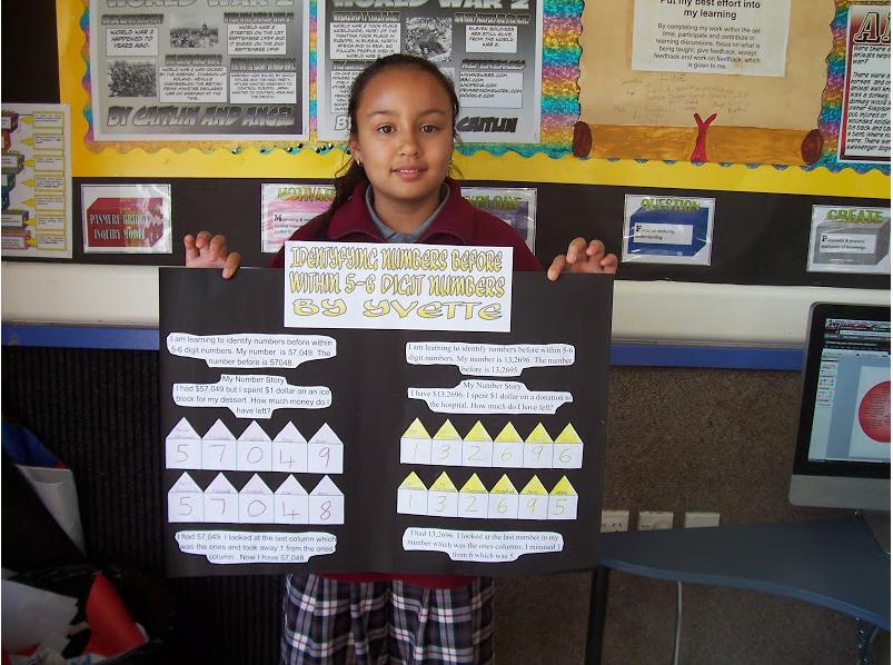 Yvette : My Maths Work. By Yvette