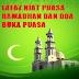 Lafaz Niat Puasa Ramadhan Dan Doa Berbuka Puasa