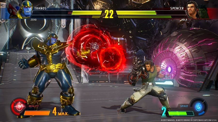 Marvel vs. Capcom - Infinite Torrent Imagem