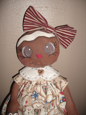 BeFRuiTFuL KReaTioNS: Gingerbread Tissue or Kleenex Cover Doll Pattern