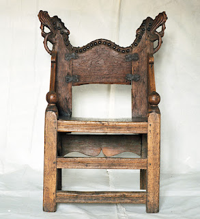 how to build a medieval chair
