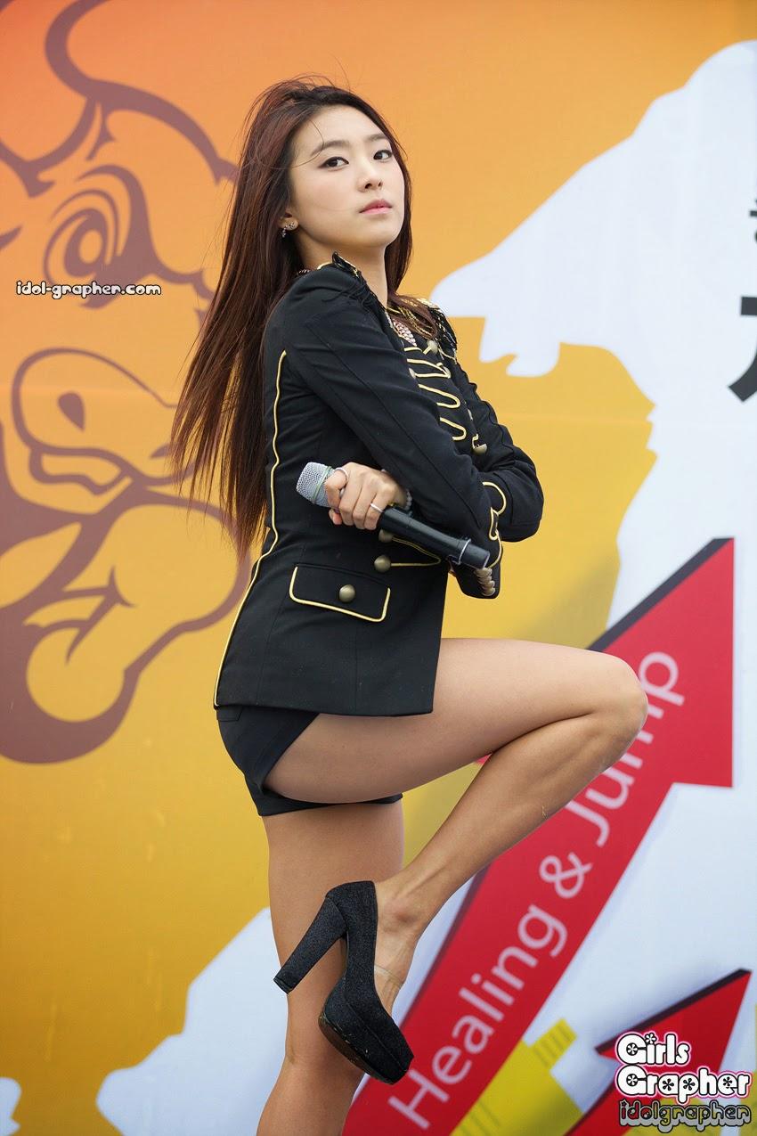 Sistar (씨스타) Bora (보라) - Bulls Race on 06 April 2013