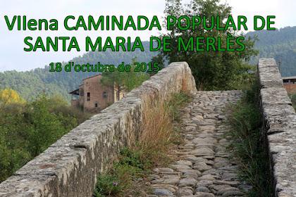 Caminada Popular Santa Maria de Merlès 2015