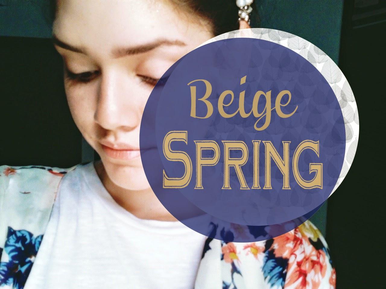 Beige Spring! -387-ursulafl