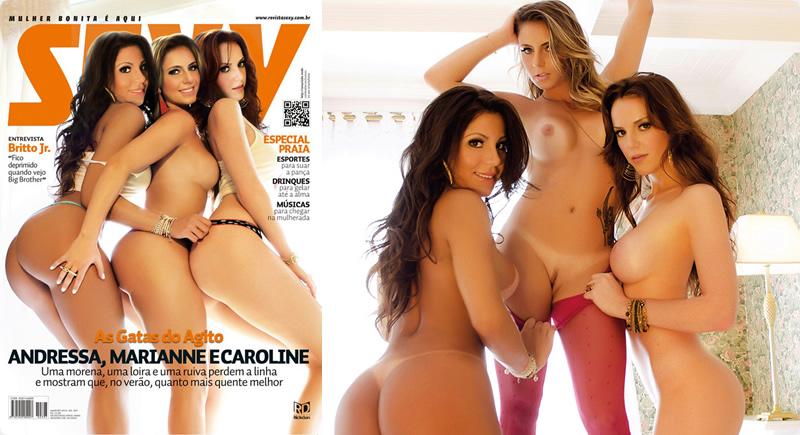 Sexy Janeiro – Gatas do Agito (Andressa, Marianne e Caroline)