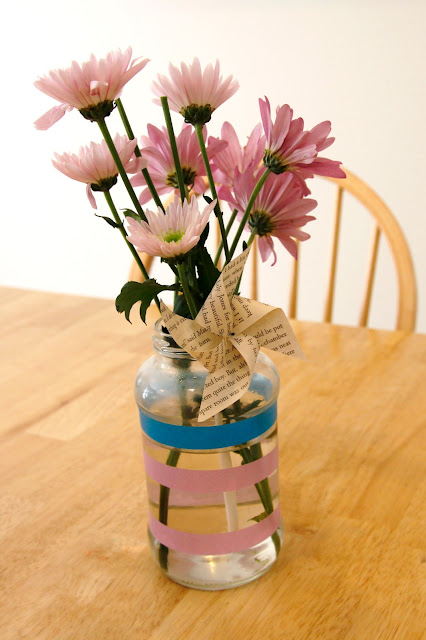 Washi Tape Vase - Beyond the Aisle