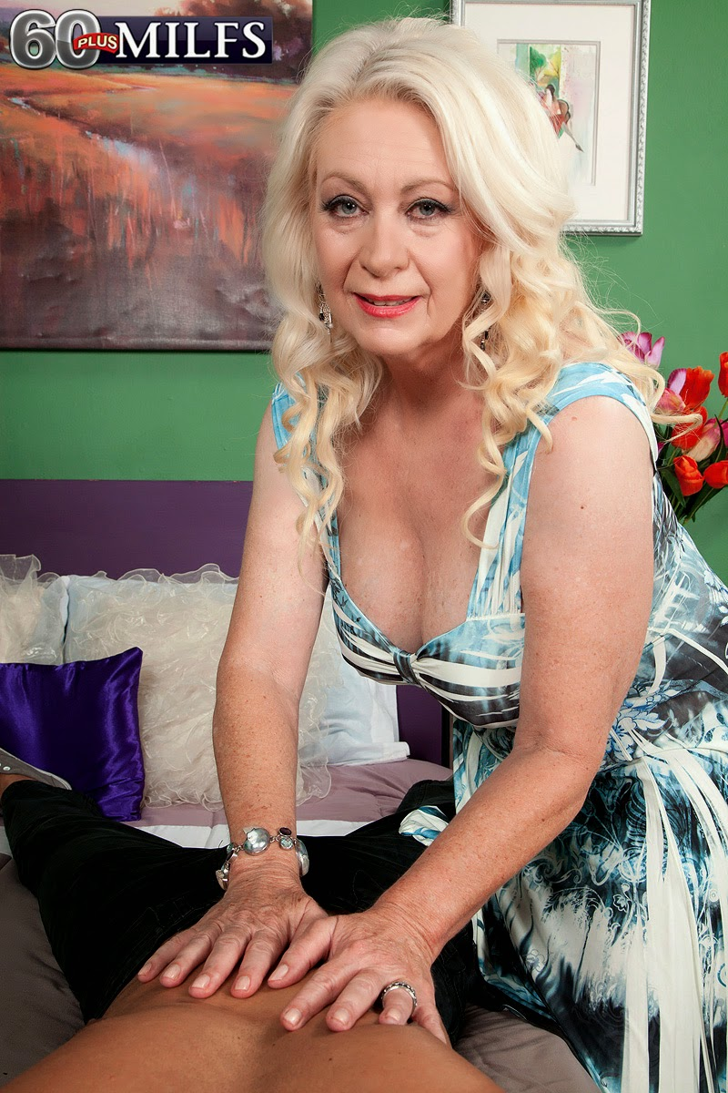 Mature lovers: Angelique DuBois - Blonde granny