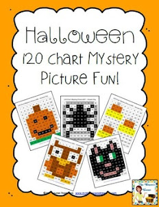 120 Chart Hallowen Pictures