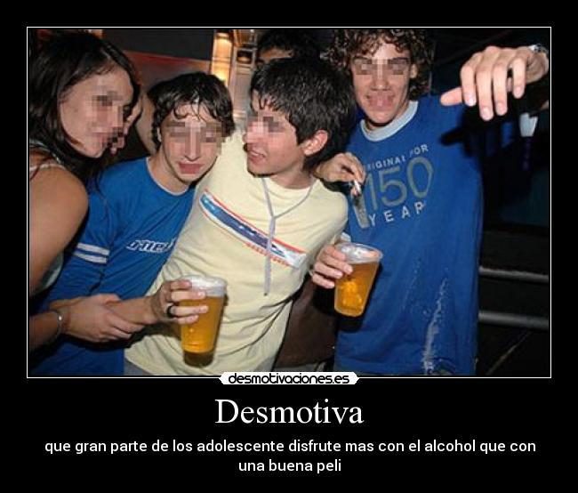 Adolescente borracho desmayado