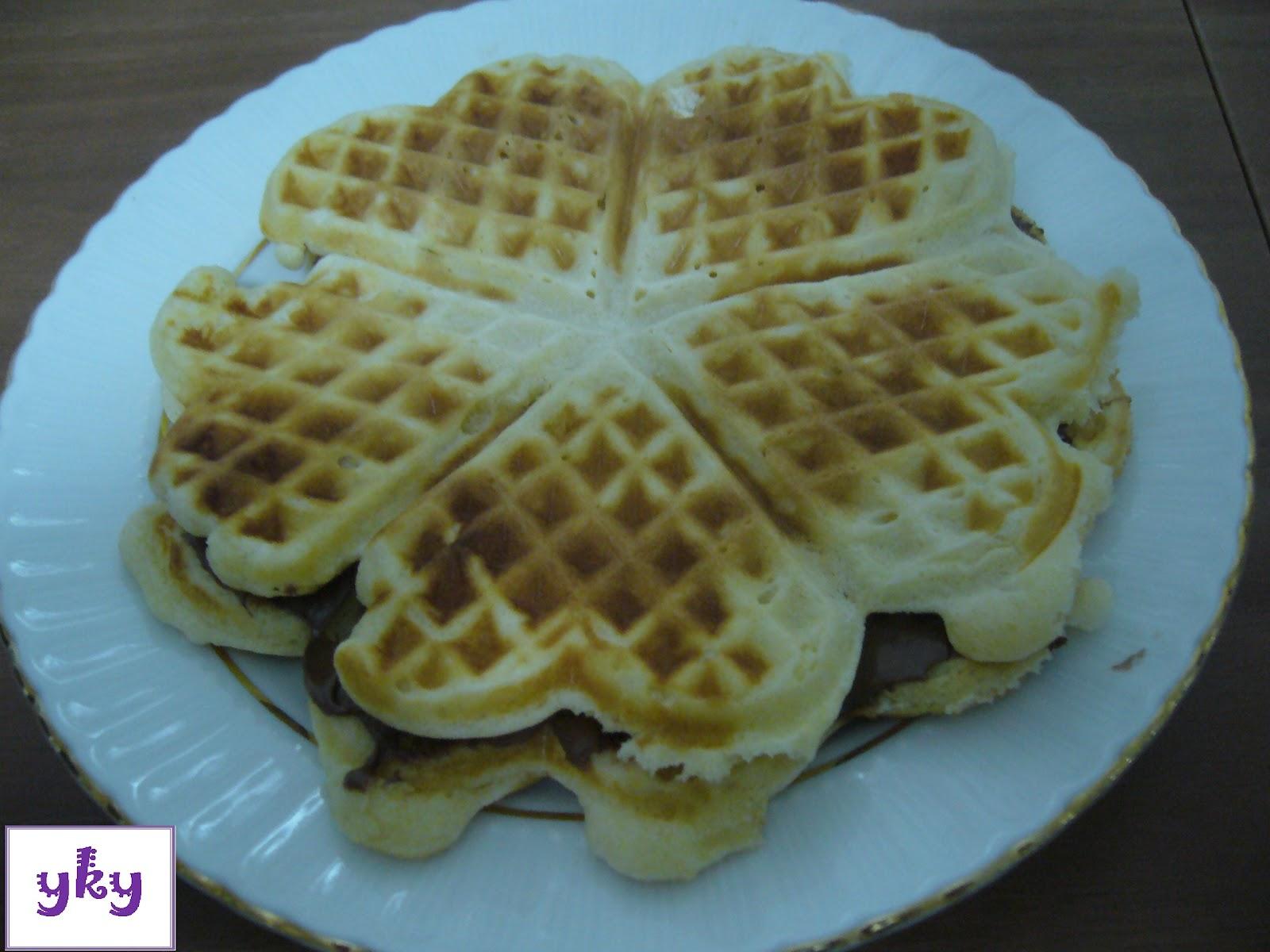 Waffle tarifi tarifi — Görsel Yemek Tarifleri Sitesi ...