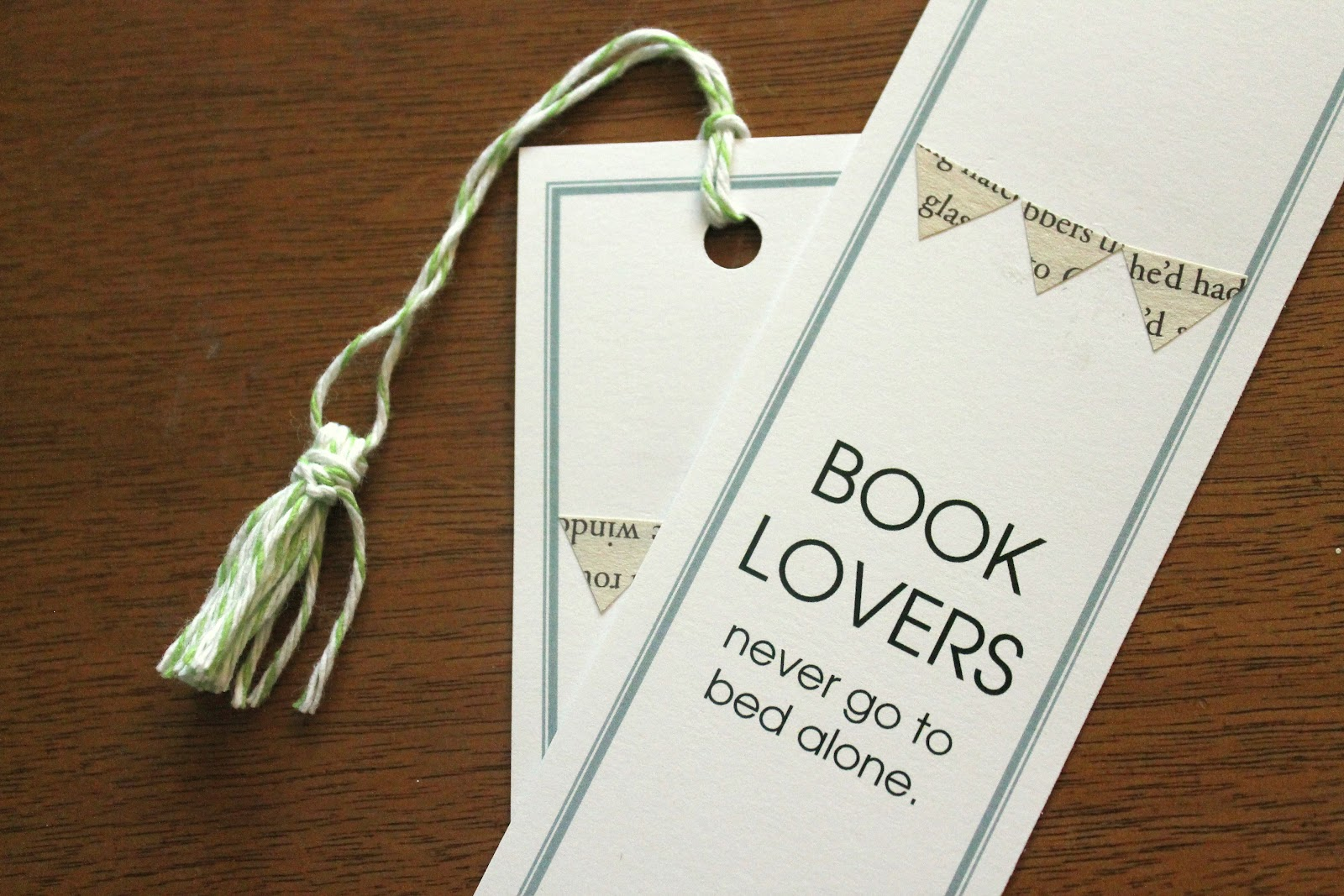 she always loved) larking.: a literary bridal shower {DIY/how-to post}