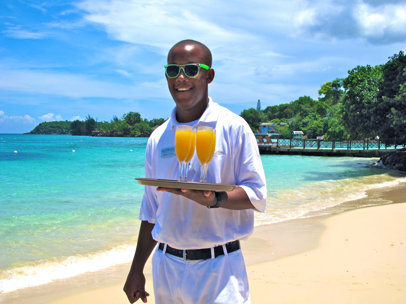 Travel with melissa royal plantation resort in ocho rios for Beach butler elevator