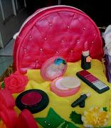 Cosmetic Bag Cake