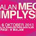 4 Oct 2013 (Fri) - 6 Oct 2013 (Sun) : Jualan Mega SimplySiti