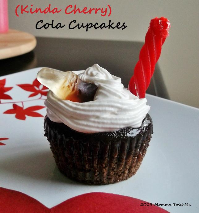 cola cupcake recipe