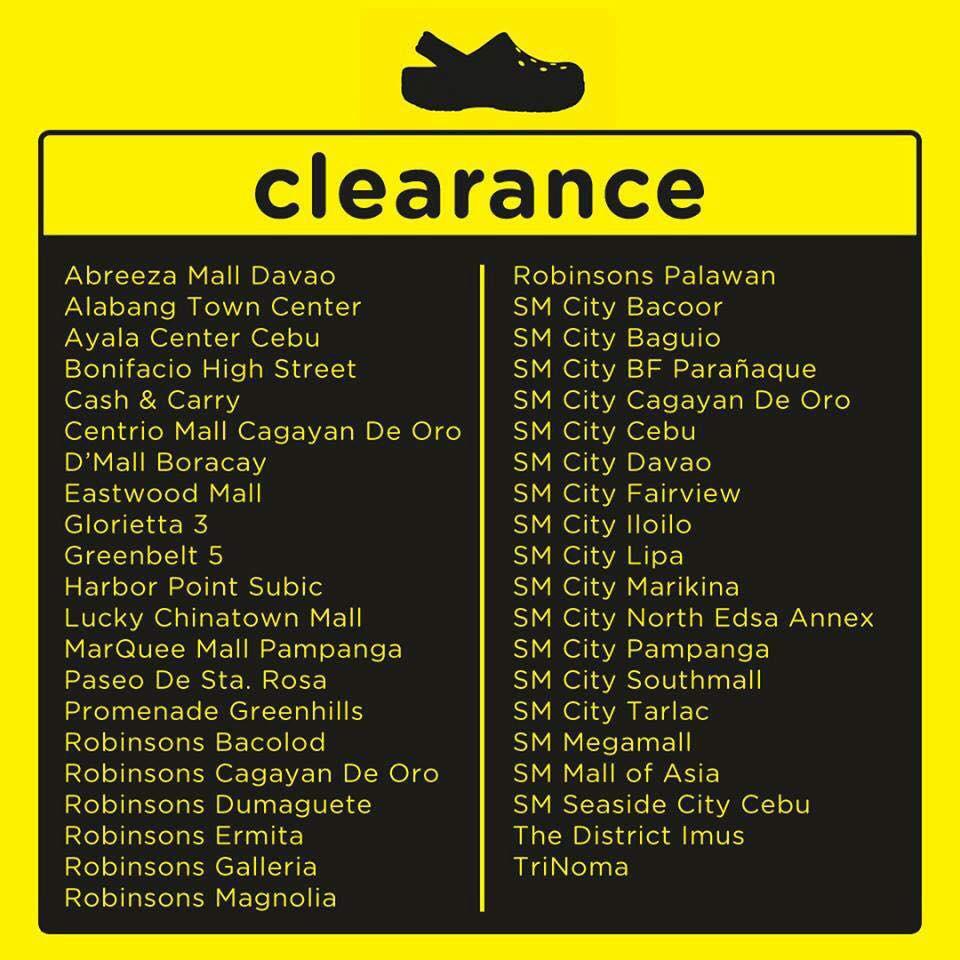 Crocs clearance sale crocs philippines sale sulitipid