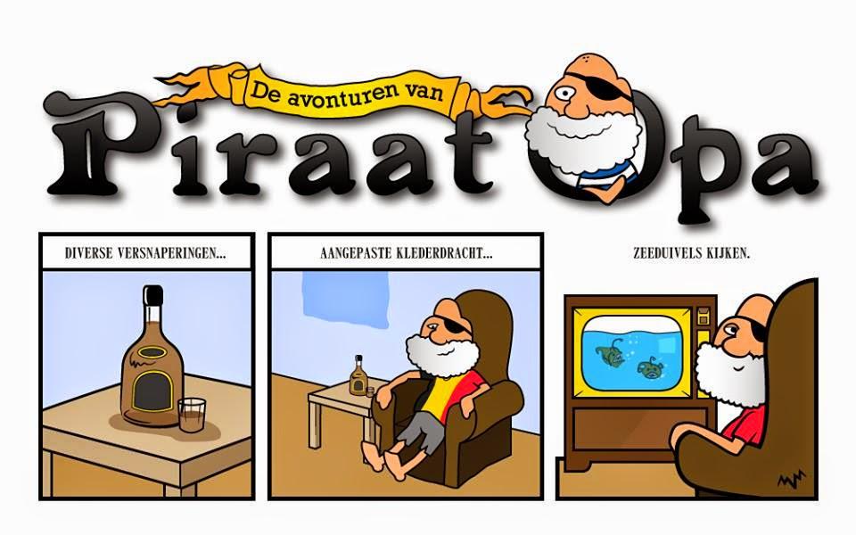 De avonturen van Piraat Opa: Zeeduivels