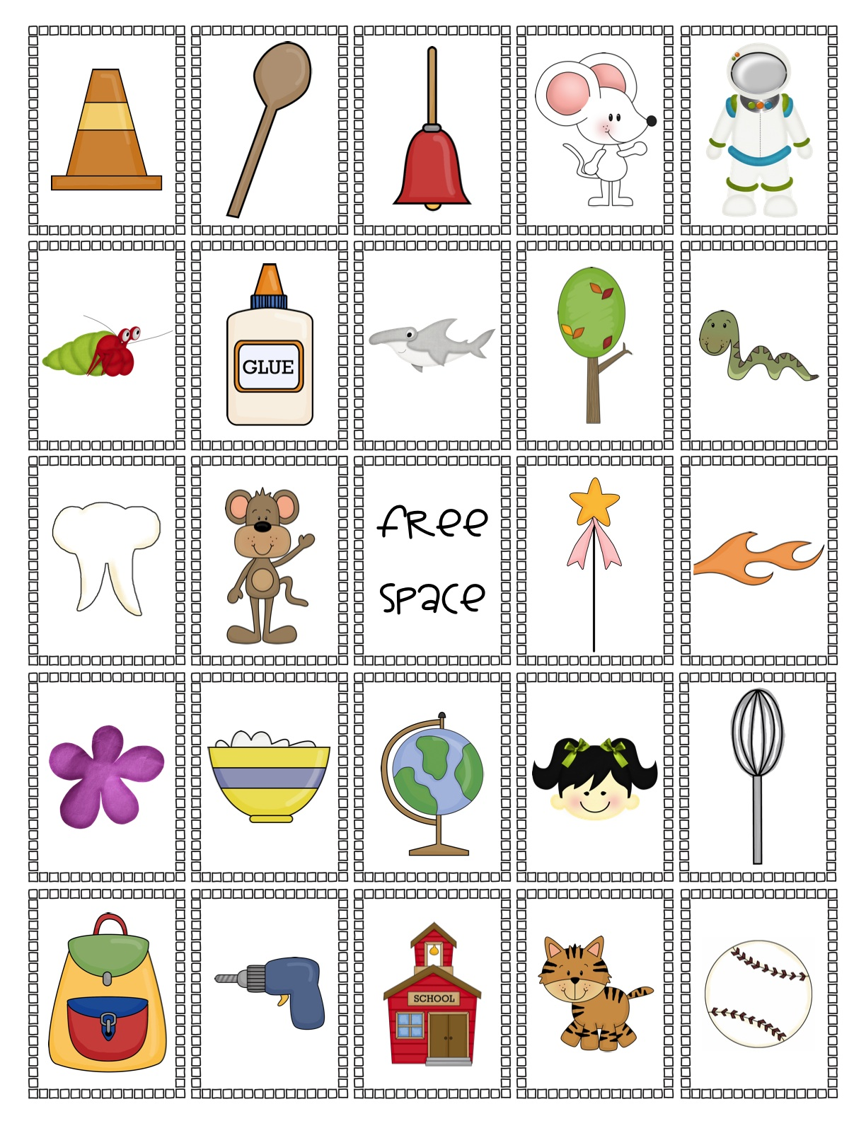 Two Can Do It: Rhyme Time Bingo