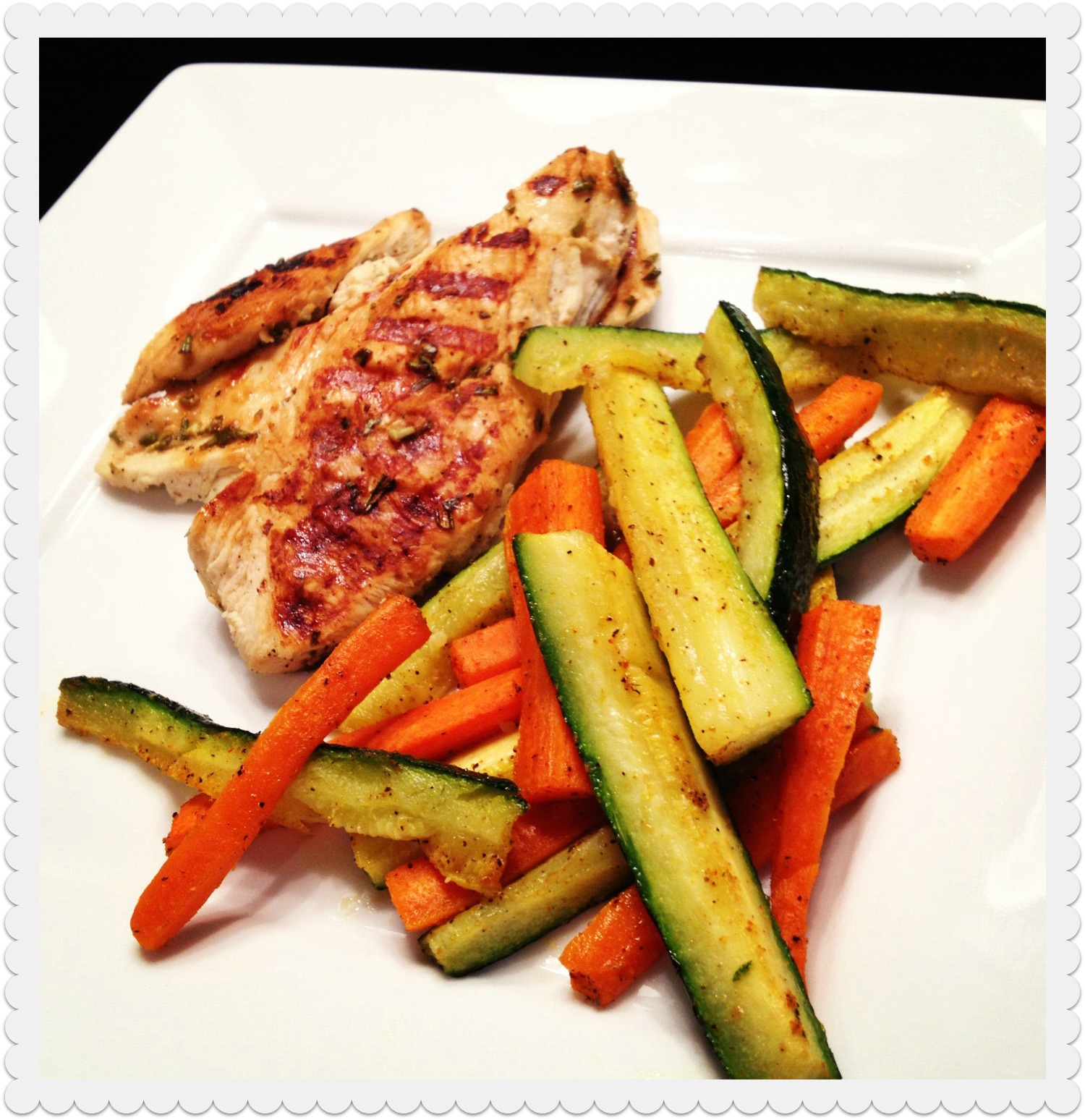 Paleon It: { simple lemon rosemary chicken & roasted veggies }