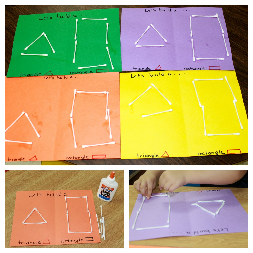 shapes theme preschool activities we also made shapes this was great practice in both 128