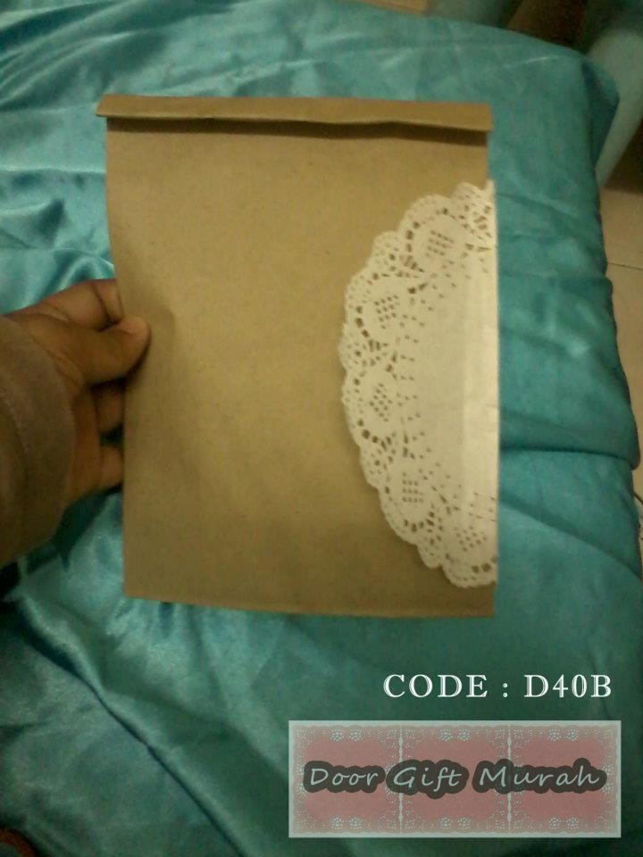 Door gift jimat door gift doily paper for Idea door gift jimat