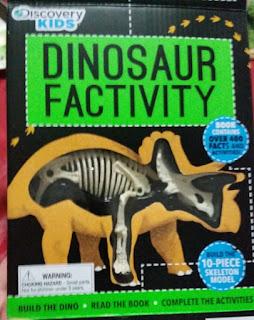 dinosaur factivity kit cover