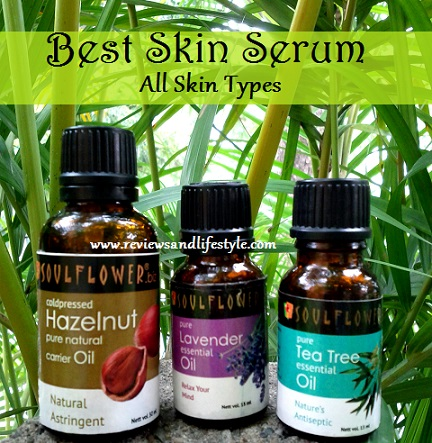 Aromatherapy Natural DIY Skin Serum for all skin types