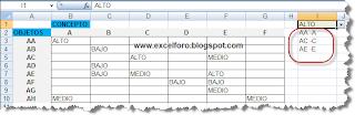 VBA: Una utilidad de OFFSET en macros de Excel.