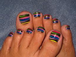 Big Toe Nail Art Designs