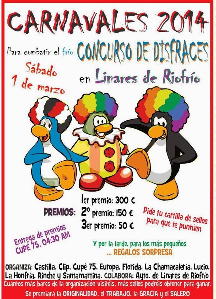 1/Marzo: Carnaval. Linares de Riofrío