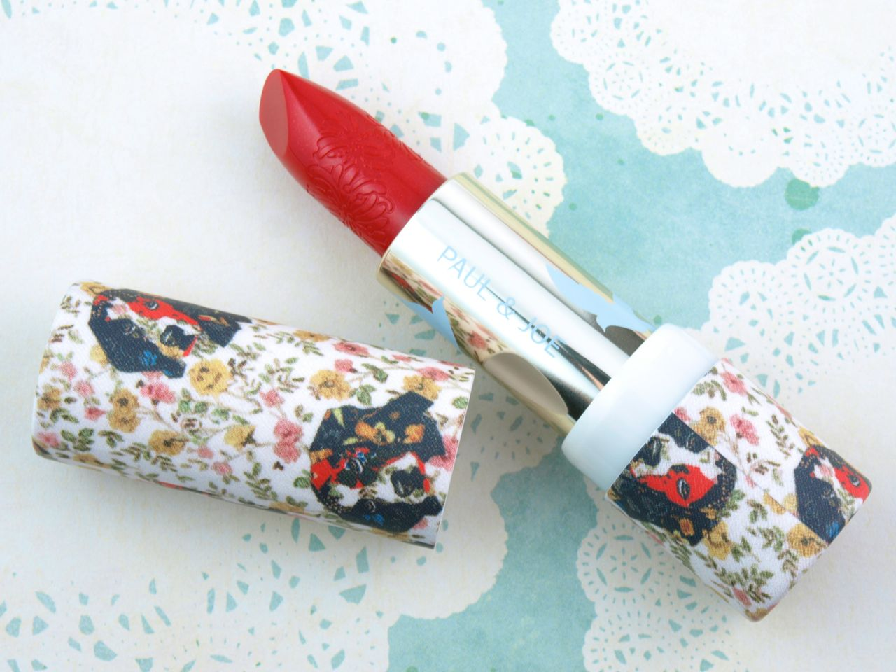 Paul & Joe Sparkles Collection Lipstick Case 019 & Lipstick Refill 086: Review and Swatches