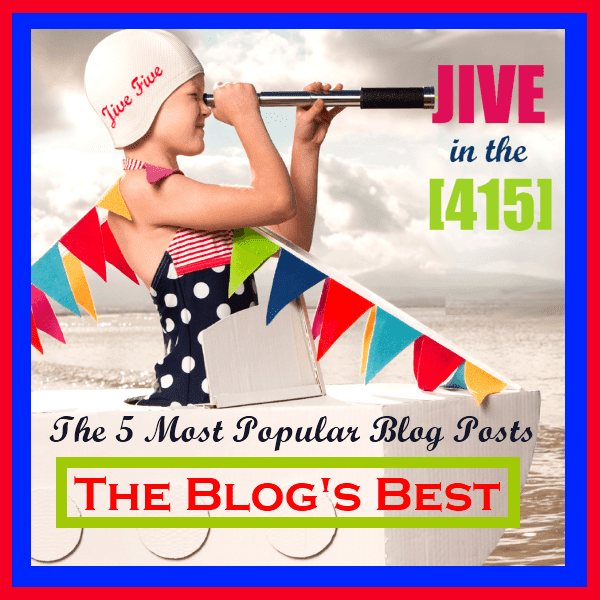 Jive 5 - Five most popular blog posts each month. jiveinthe415.com