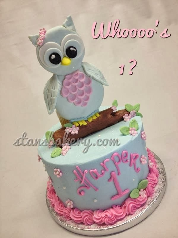 Leslies Cool Cakes From Stans Northfield Bakery Owl First